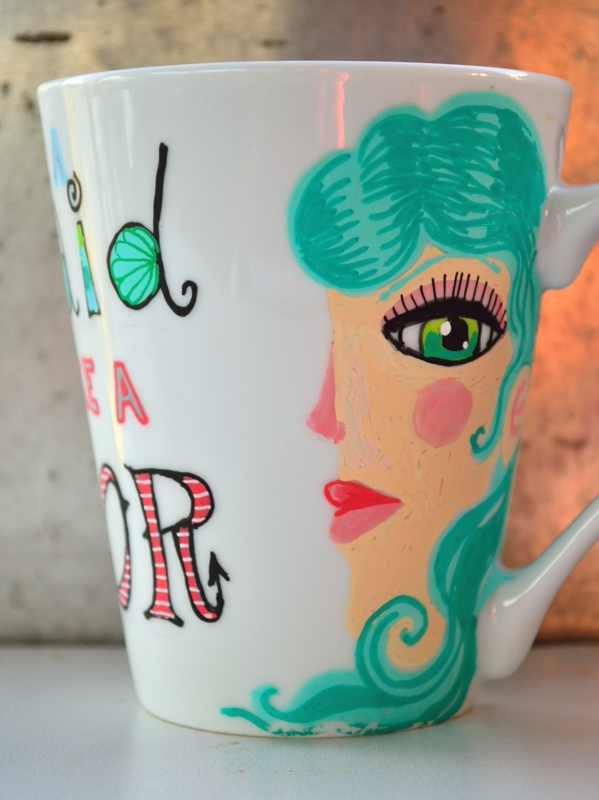 two-faced cup