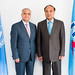 His Excellency Dr. Mohamed Ali Alhakim, Executive Secretary of  The United Nations Economic and Social Commission for West Asia (ESCWA) and Mr Houlin Zhao, Secretary-General, ITU