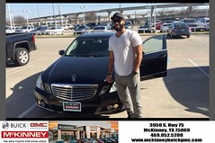 #HappyBirthday to Rob from Jeremy Brannon at McKinney Buick GMC!