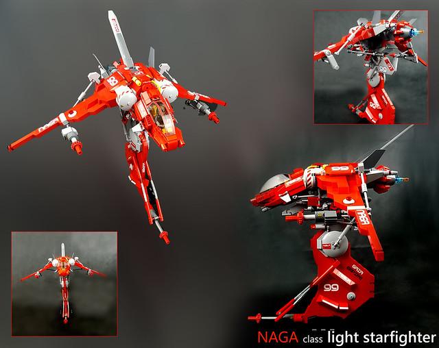 NAGA class light starfighter - details