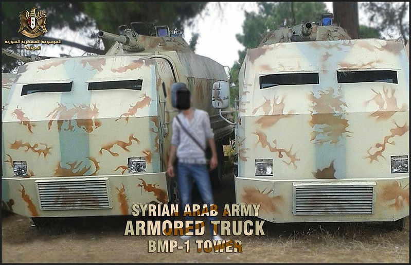 BMP1-turret-trucks-loyals-syria-c2016-spz-1