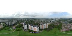 Moscow Kantemirovskaya ul copter photosphere