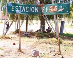 """Ferrocarril Mexicano -  """"Railroad Station"""""""