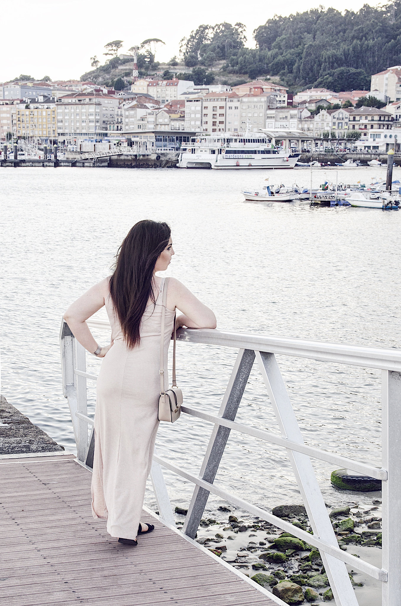 cómo llevar vestido largo en verano