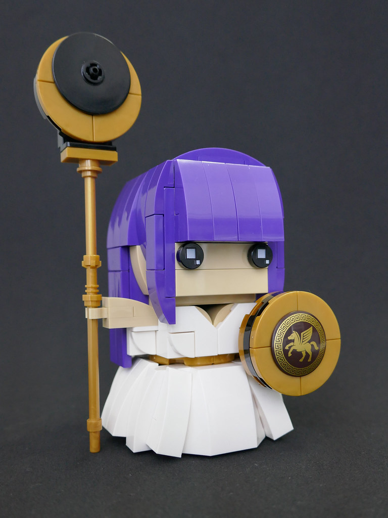 Athena (custom built Lego model)