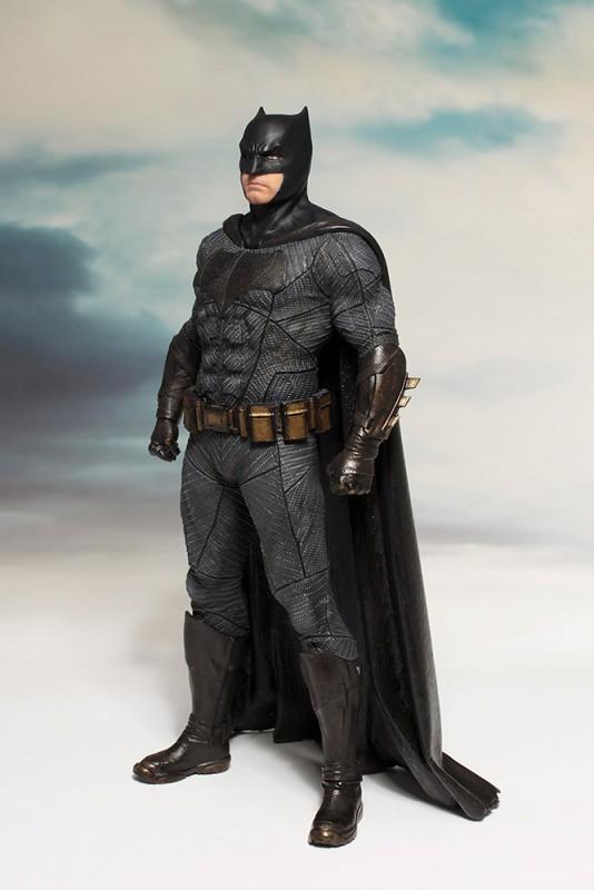 壽屋 ARTFX+ 系列【正義聯盟:蝙蝠俠】JUSTICE LEAGUE バットマン 1/10 比例全身雕像作品