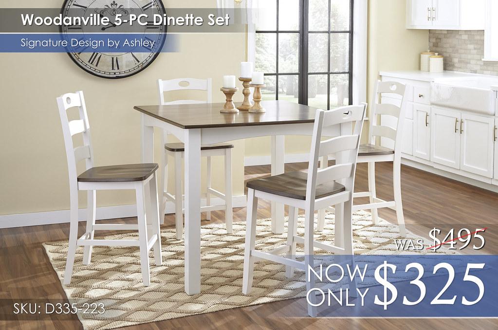 Woodanville Dining D335-223-R400-ALT