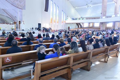 Monsenhor Jonas Abib celebra missa em comemoração aos 35 anos da Fundação João Paulo II
