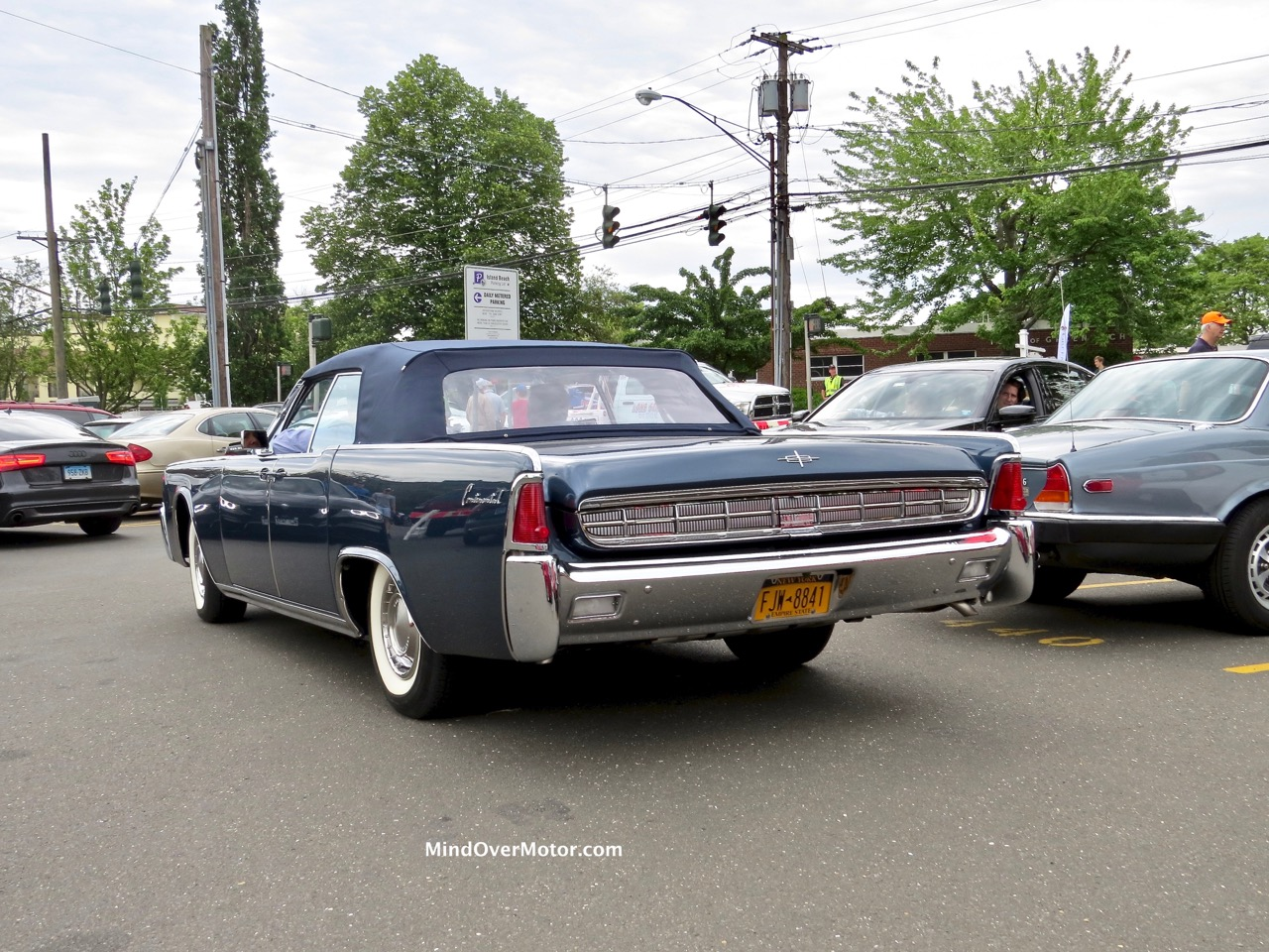 1961 Lincoln Continental Convertible Rear