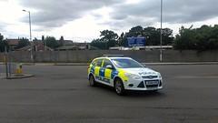 Norfolk police car