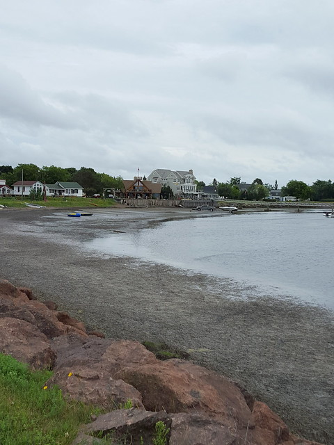 You can swim off the Pointe-du-Chêne Wharf. From Visiting the Lobster Capital of the World