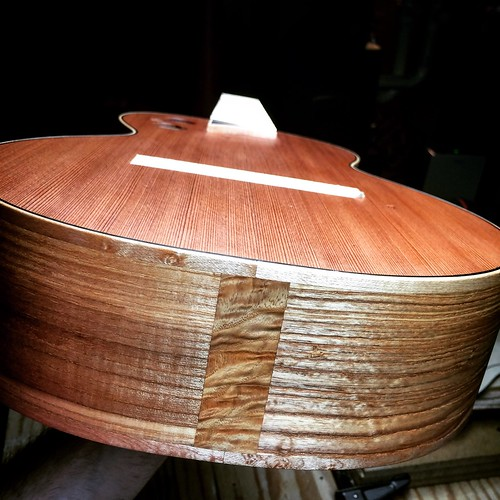 Ash and red cedar baritone uke
