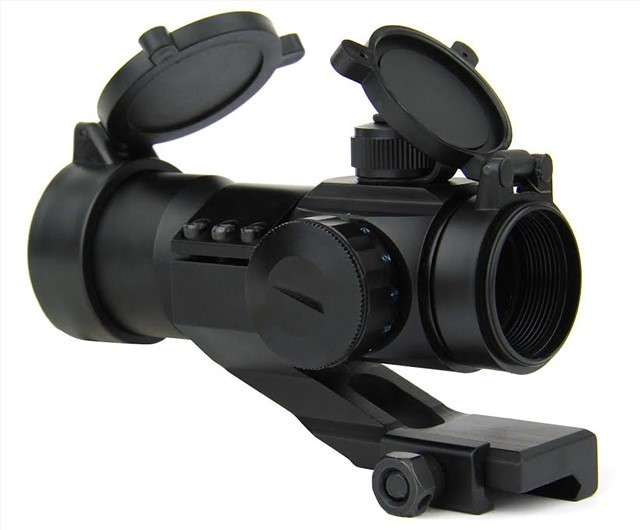 ak47 mount 3x magnifier & red dot6