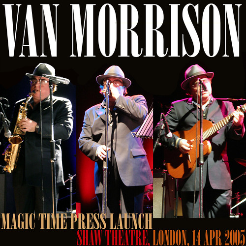 Van Morrison - Magic Time Press Launch - Front copy