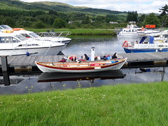 Crew at rest, Fort Augustus