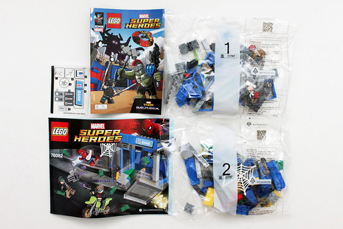 LEGO Marvel Super Heroes Spider-Man: Homecoming ATM Heist Battle (76082)