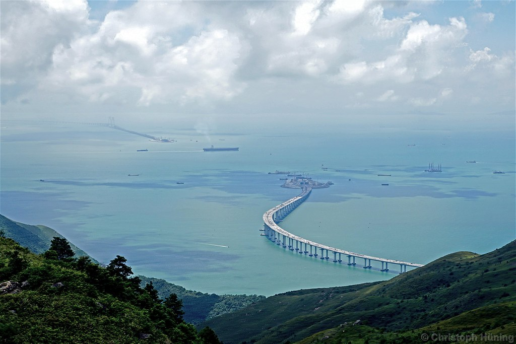 Hong Kong - Zhuhai-Macau-Bridge