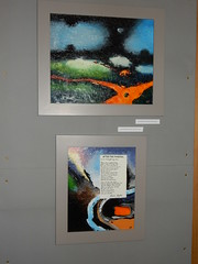 New Language (top) and After the Funeral (bottom), Frieda Hughes, Alternative Values Exhibition, Chichester Cathedral (2)
