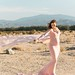 Inspiration For Pregnancy and Maternity : Pastel Coachella Valley Desert Maternity Photos -- Randy + Ashley Studios...