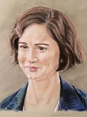 "Porpentina ""Tina"" Goldstein portrait"