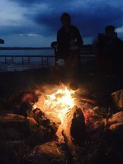 Lake Leelanau fire