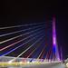 Illuminated Bridge of Bucaramanga Colombia