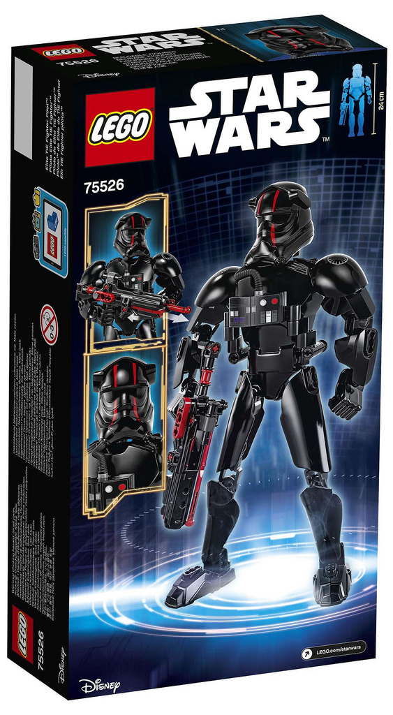Elite TIE Fighter Pilot back