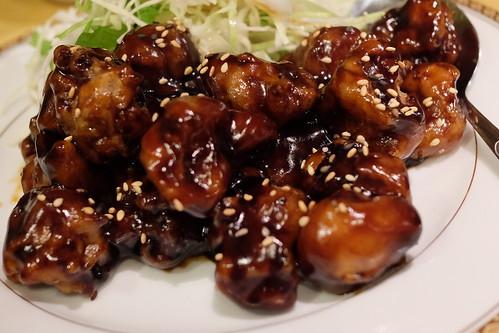 ヘルシー黒酢酢豚