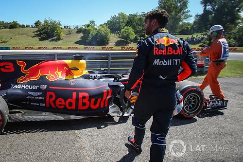 Ricciardo ja Red Bull auto 29.7.