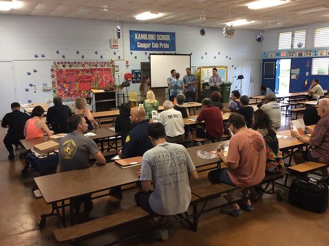 Hawaii Kai Wildfire Safety Workshop 6/5/17