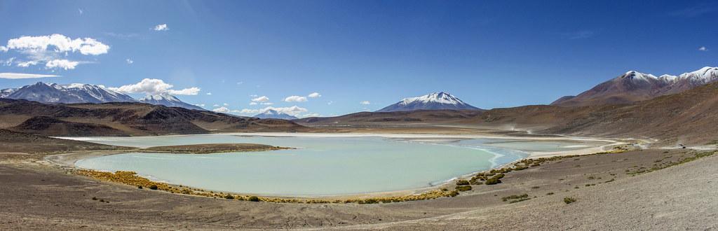 Bjergsøer og bjerge Bolivia