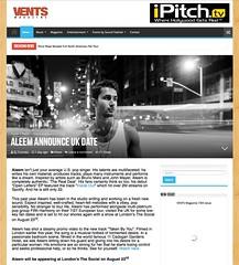 Aleem - Vents Magazine - 31 July 2017 - Photo by Doug Seymour