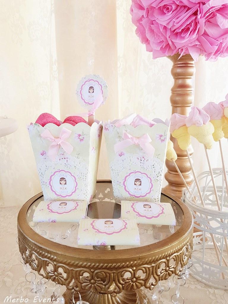 detalles mesa dulce comunion Merbo events
