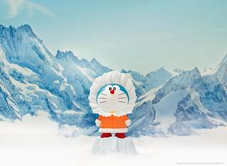 DING DONG 宅配便× 哆啦A 夢【大雄的南極冰天雪地大冒險】哆啦A 夢冰凍登場!!