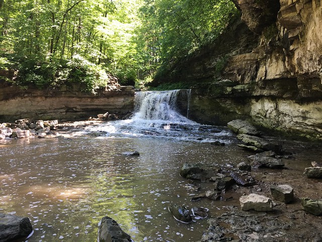 McCormicks Creek waterfall
