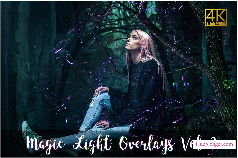 20 Overlay ánh sáng ma thuật miễn phí