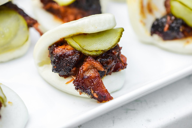 Pork Belly Burnt End Buns