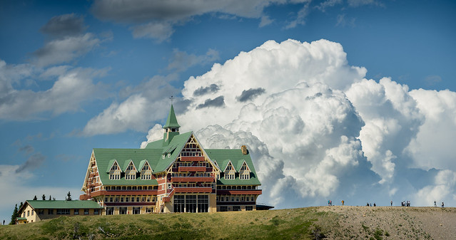 Prince of Wales Hotel and Storm