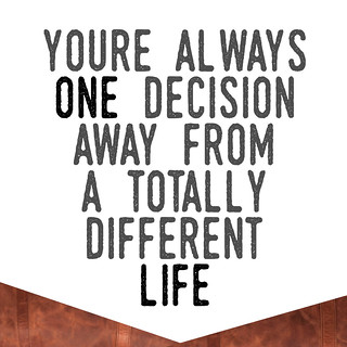 Decisions in Life: Inspirational Quote | by Free For Commercial Use (FFC)