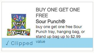 Sour Punch Candy Coupon