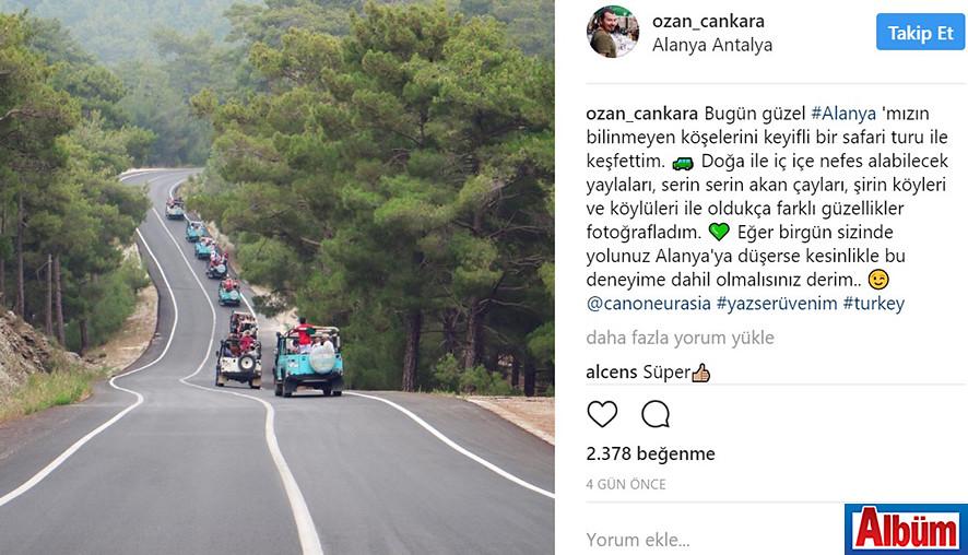 Canon Türkiye fotoğrafçılarından Ozan Cankara Alanya'daydı 4