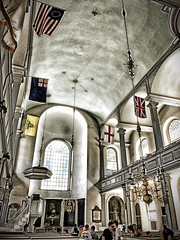 Interior of the Old North Church
