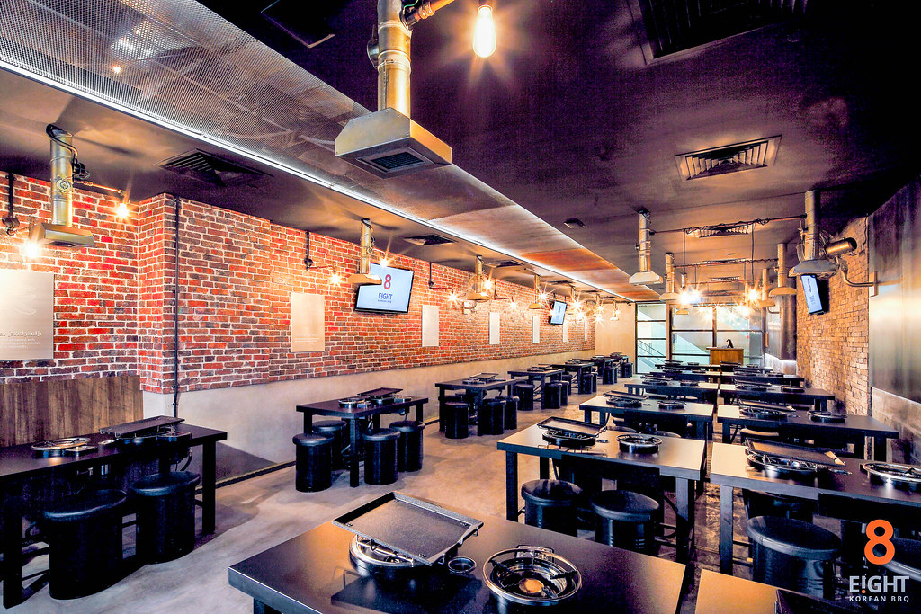 E!GHT Korean BBQ Interior The Central-8