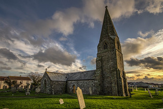 Cornwall, CUBERT, Cubert Church (John Blakeston)