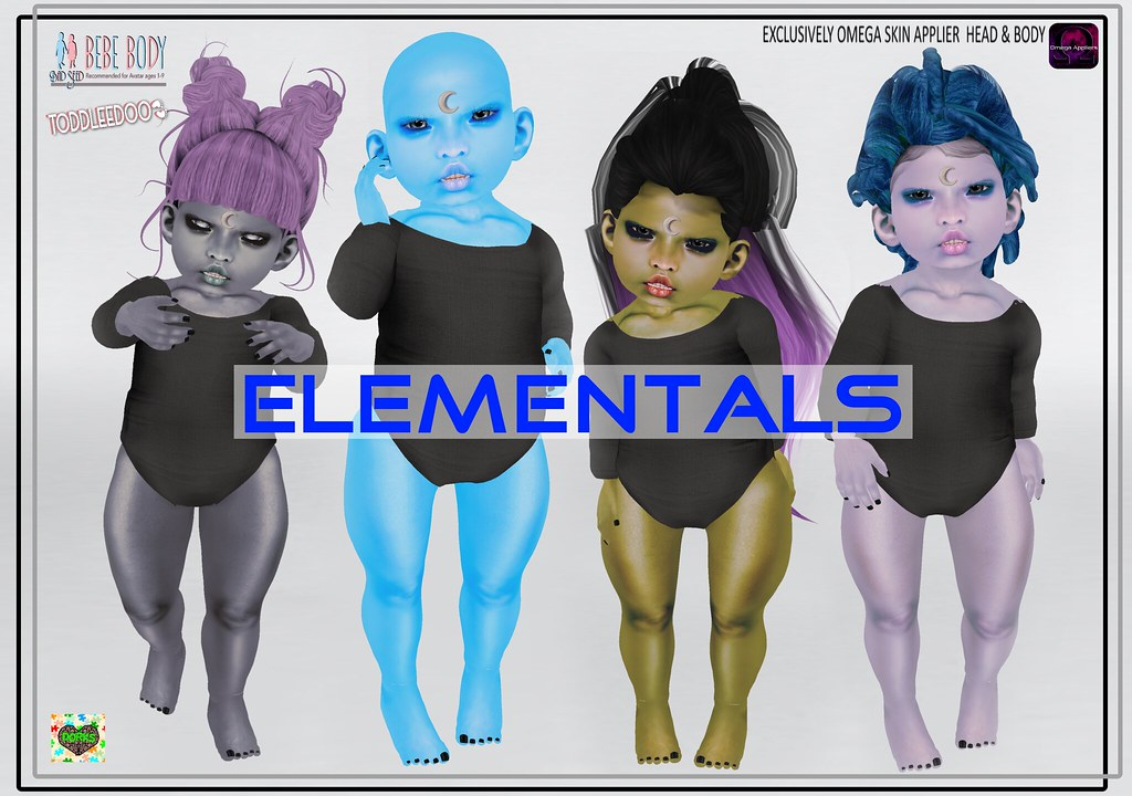 **DoRks** Elementals Skins - SecondLifeHub.com