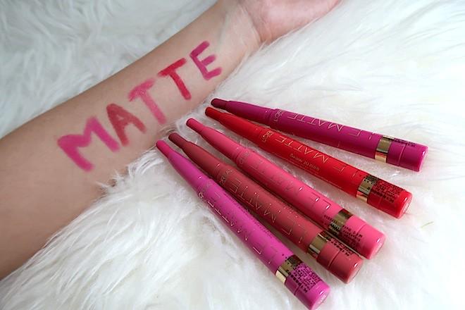 L'Oreal Le Matte Lip Crayon Pens
