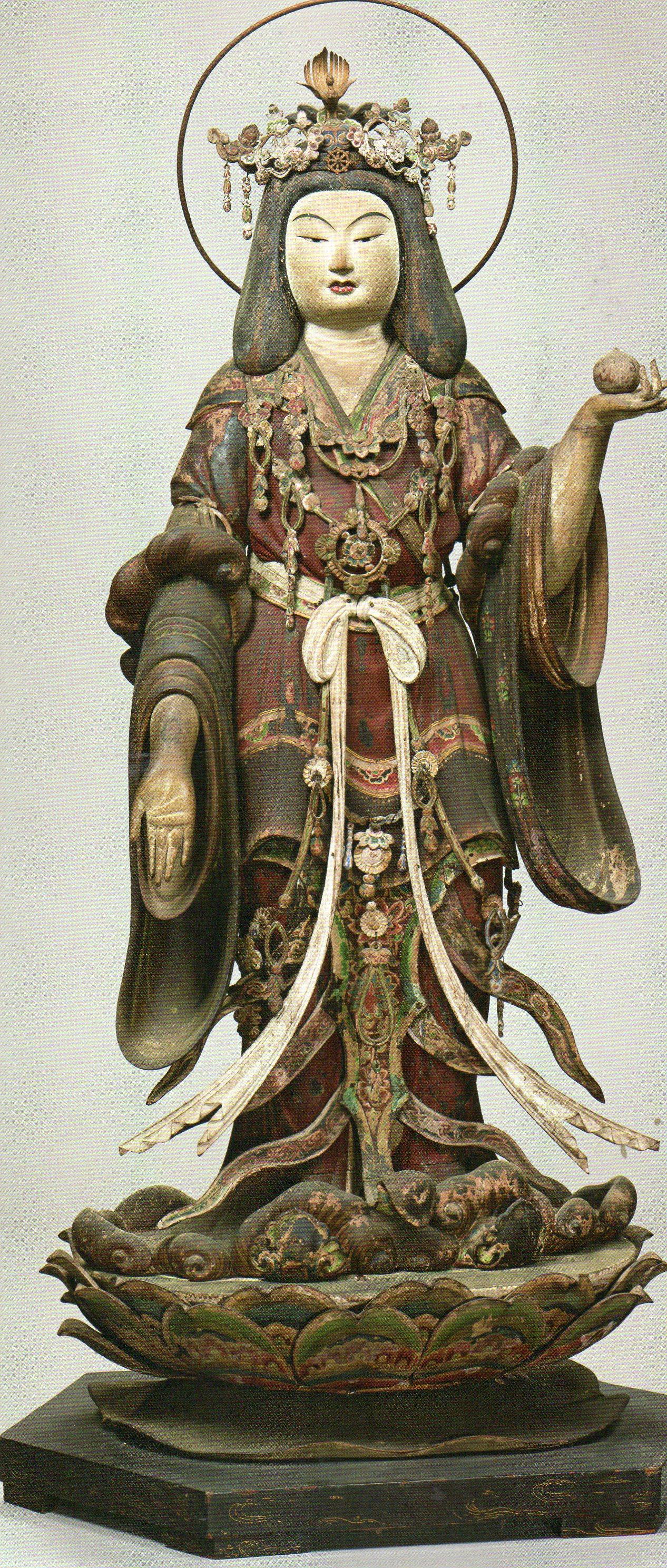 重要文化財 《吉祥天立像》(鎌倉時代、京都・浄瑠璃寺)