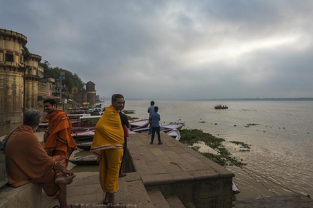 Flooded Ganges