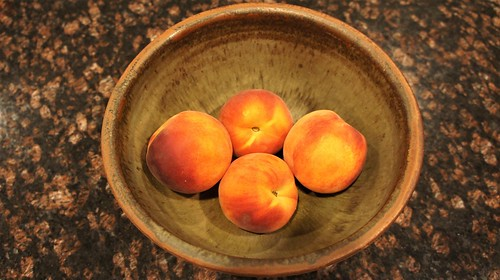 At Home: NJ Peaches