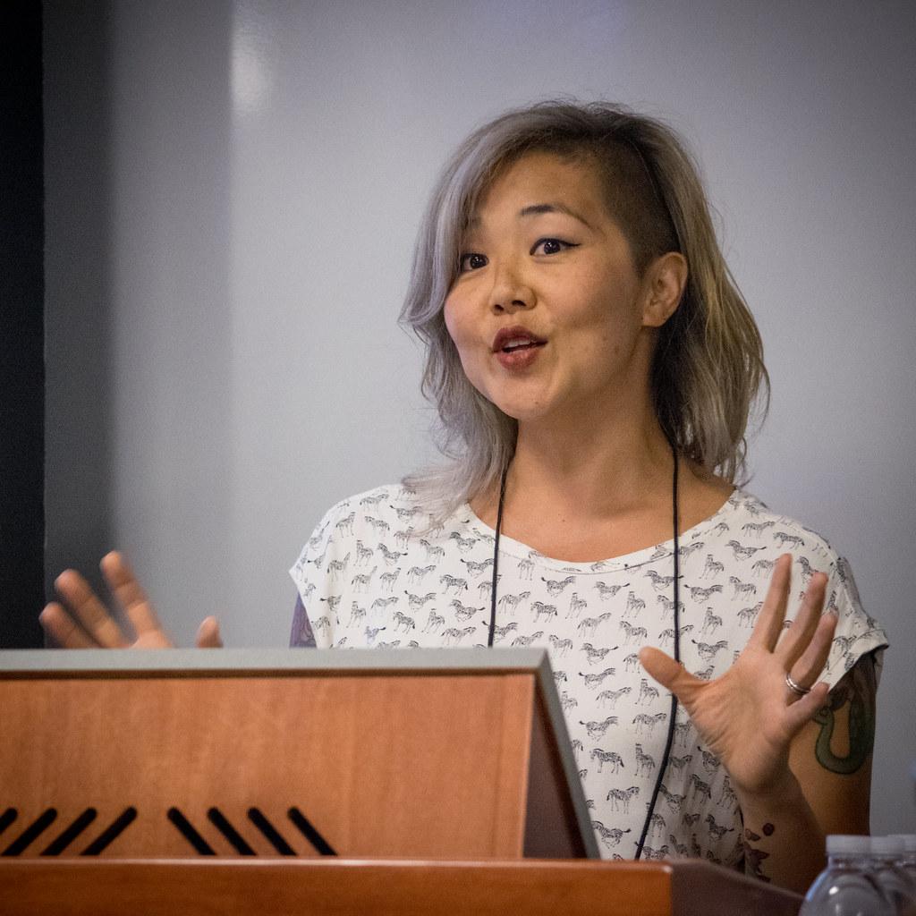 Jenny Kijowski at WPCampus 2017